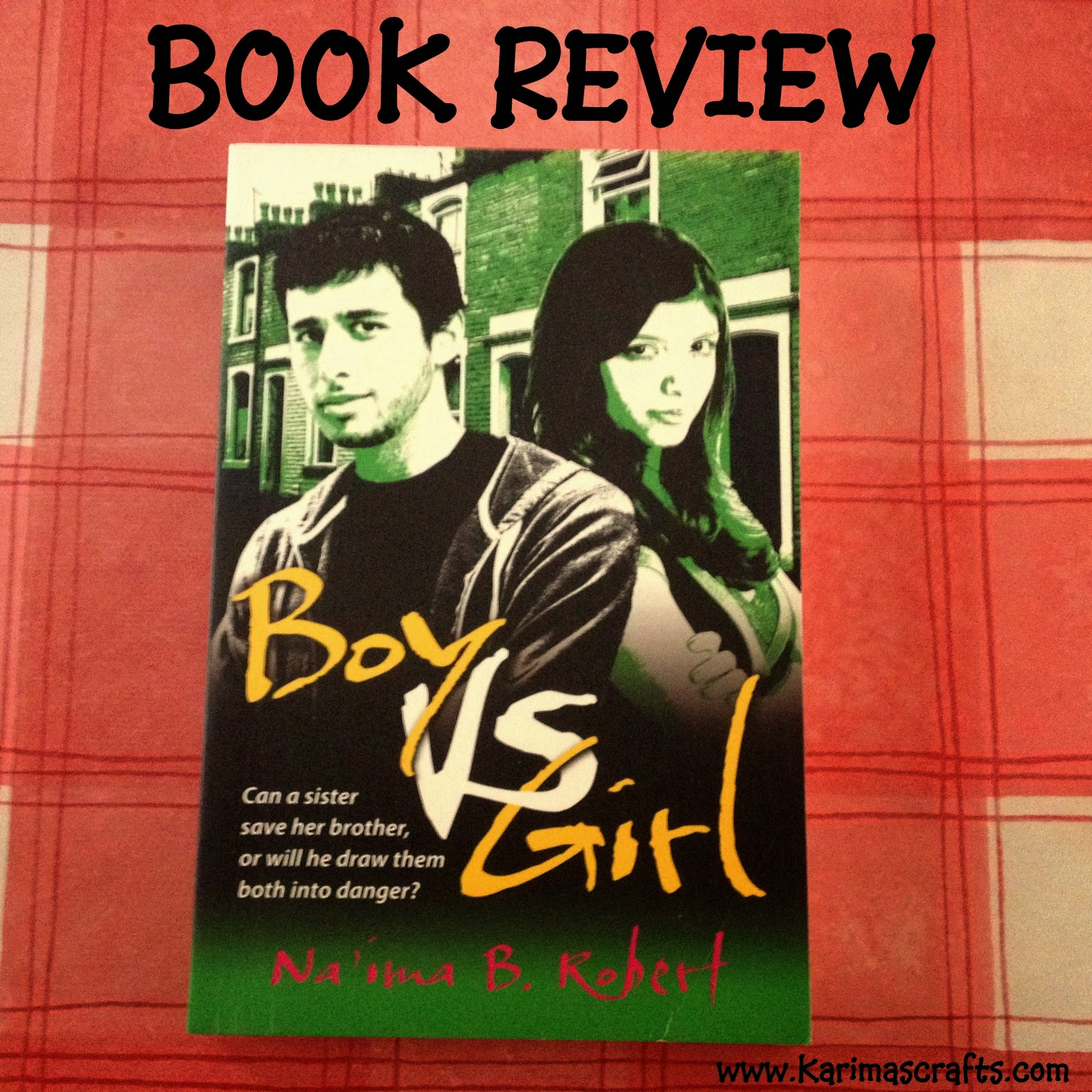 book review boy vs girl na'ima robert