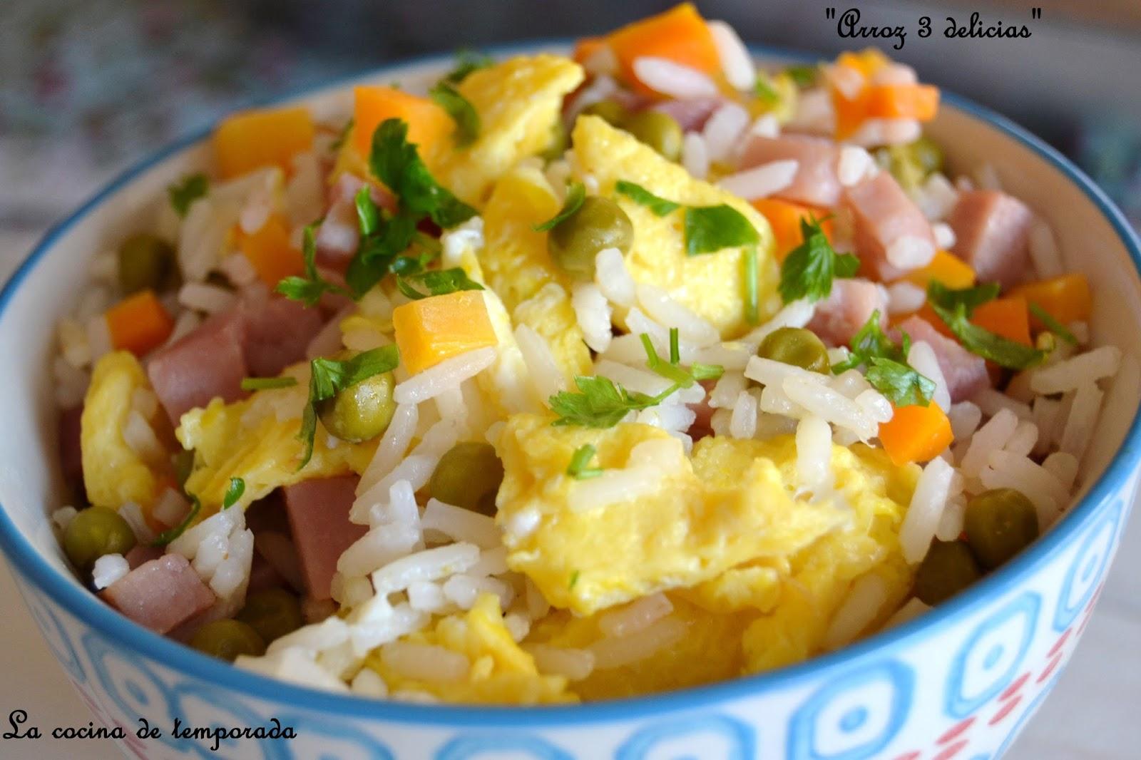 La cocina de temporada arroz 3 delicias for Cocinar arroz 3 delicias