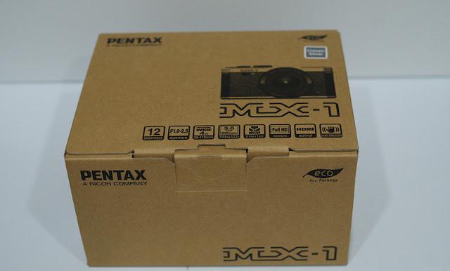 Pentax MX-1 в коробке