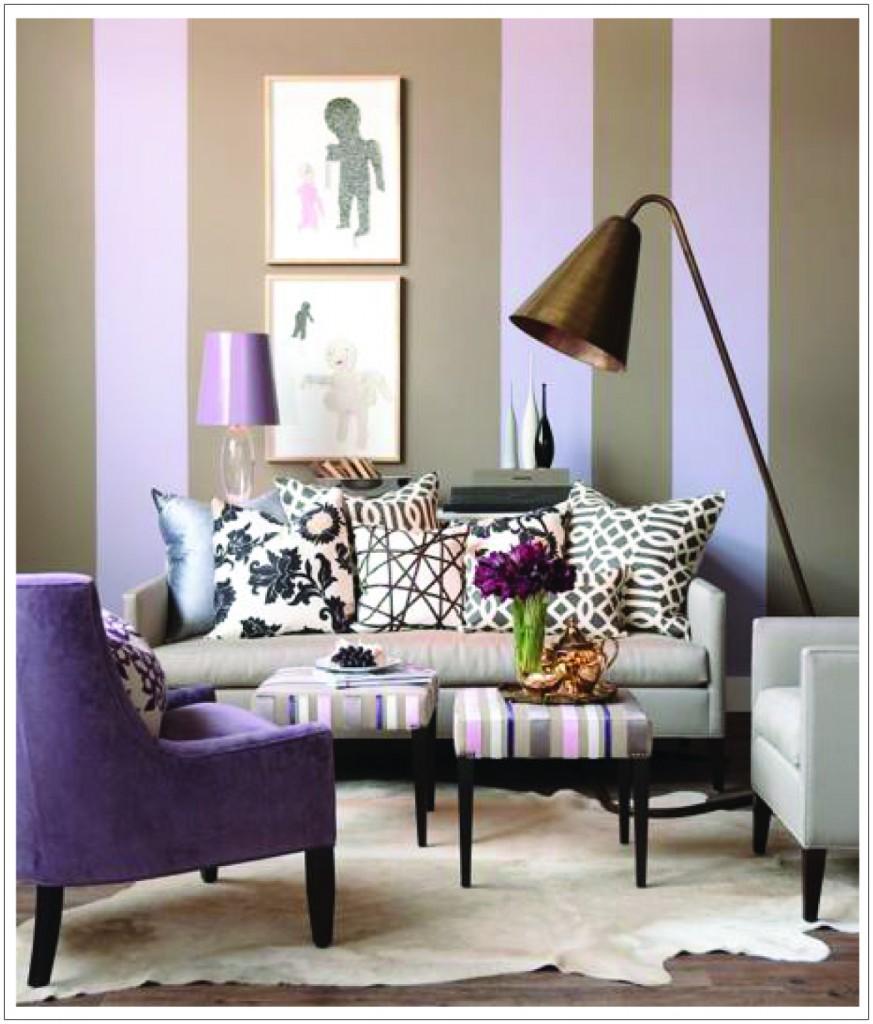 Purple Decorations For Living Room Boho Living Room Purple News