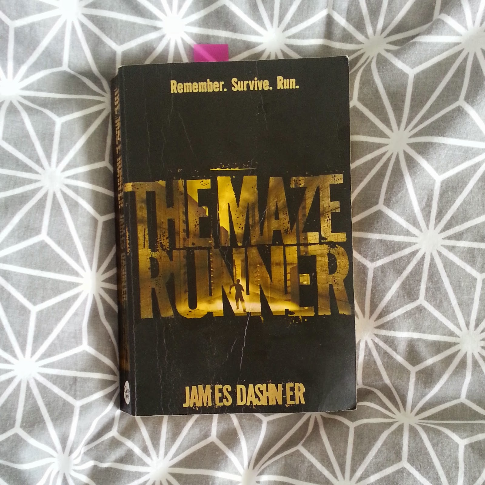 the maze runner novel james dashner