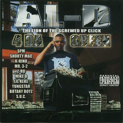 Al-D – 4 Da Green (CD) (2001) (320 kbps)
