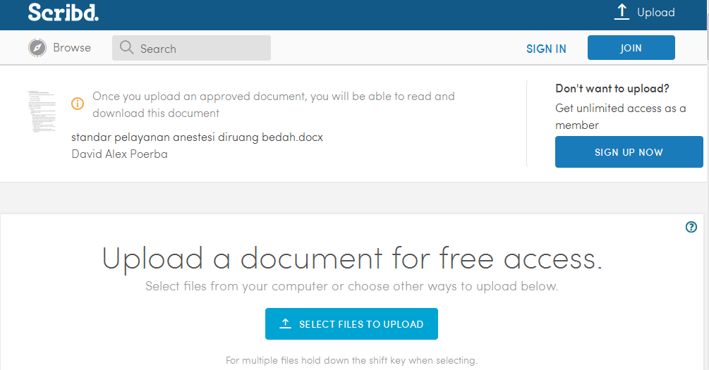 How to download pdf File/Book from Scribd without