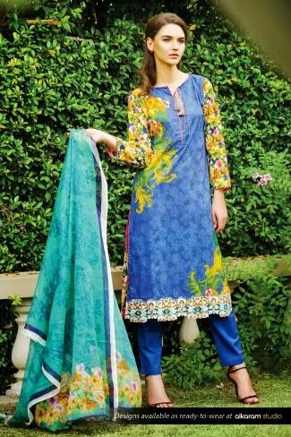 Al karam summer fabrics 2015