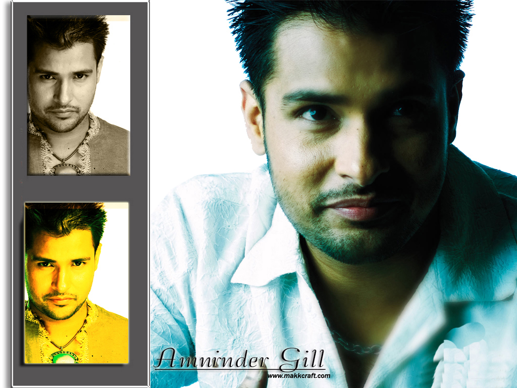Amrinder Gill Marriage Photos With His Wife Pictures