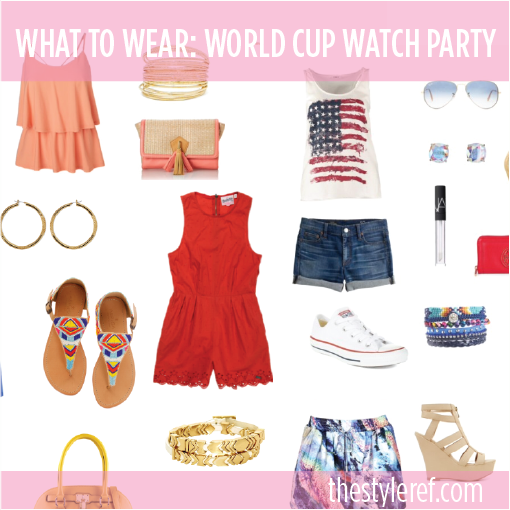 Her Pink Jersey's guide for what to wear to watch the World Cup