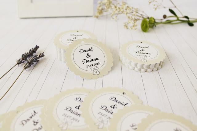 etiquetas bodas vintage