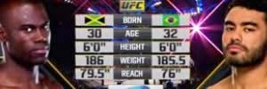 Vídeo da luta - Rafael Sapo x Uriah Hall