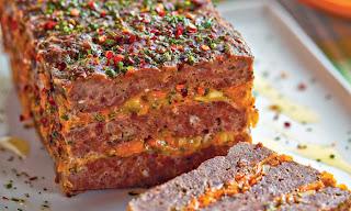 Bolo de carne com legumes light