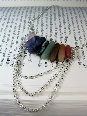 Matte Finish Stone Necklace