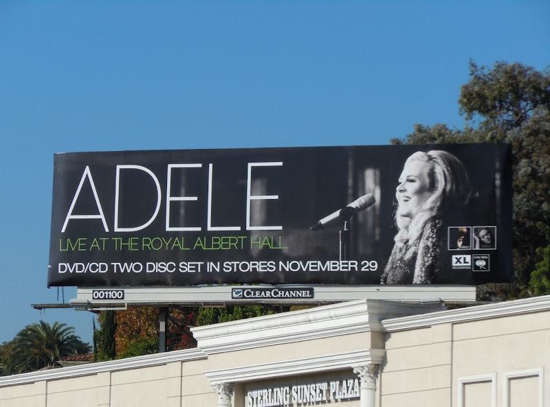 Adele concert billboard