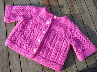 february baby sweater | Knitting In Flashes