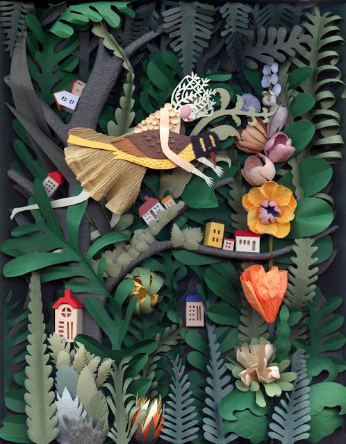 Elsa Mora creative papercuts