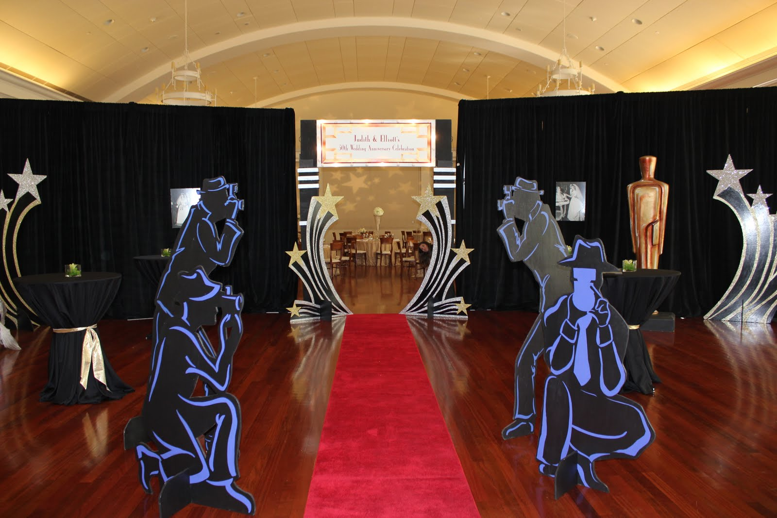 Bluming creativity hollywood themed party for Hollywood party dekoration
