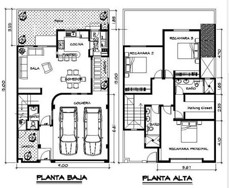 ideas para construir casa en terreno pequeno also planos de casas pequenas in addition plano de