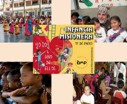 distintas situaciones con niños en misiones