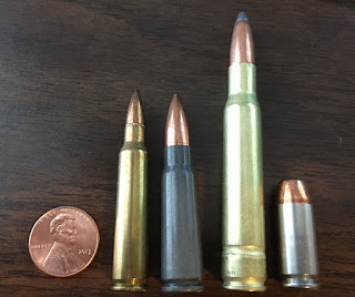 .223/ 556,7.62x39, 30/06, and 9mm Picture Chart