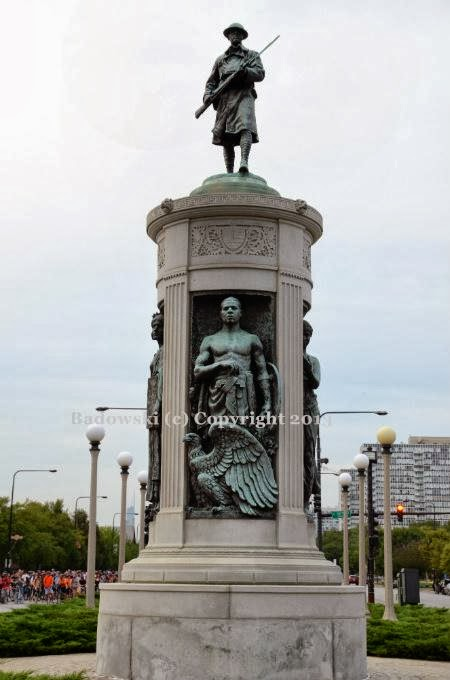 Chicago Public Art: Victory Monument, World War I Black ...