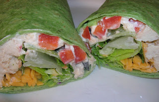 How to make chicken caesar salad wrap