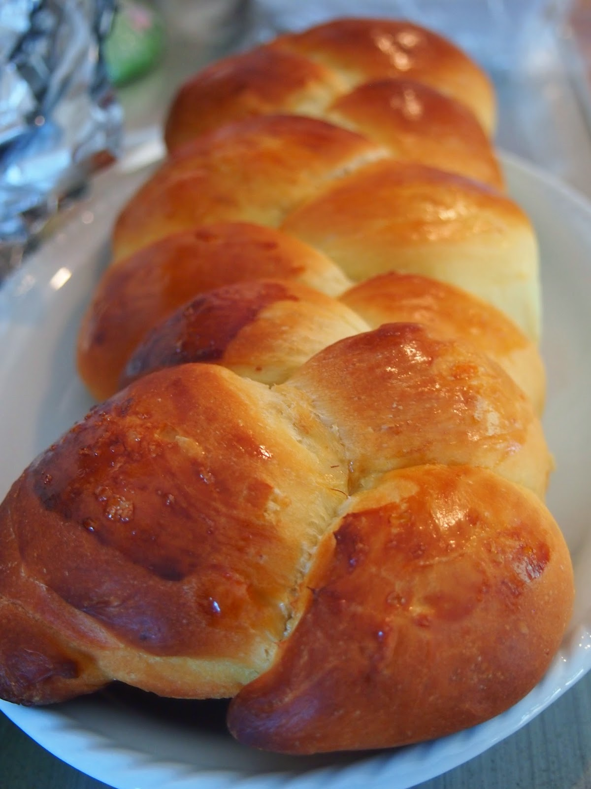 Greek Easter bread in the US