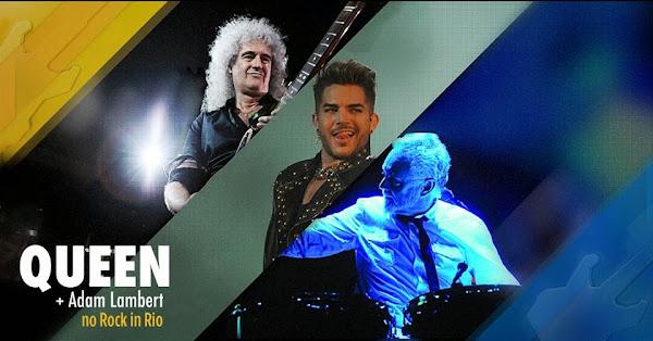 ¡Queen y Adam Lambert 18 de septiembre en Rock in Rio 2015!