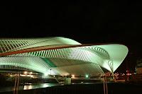 Santiago Calatrava Liège Railway Station Guillemins