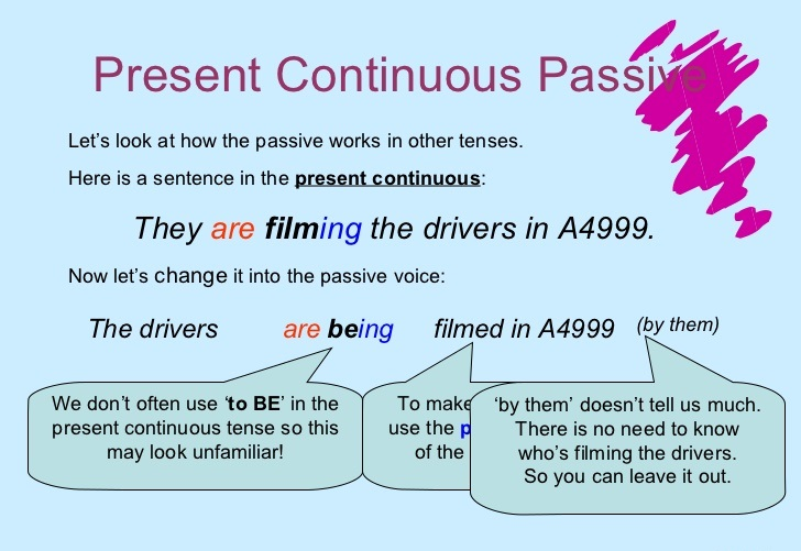 Convert Present Continuous Tense To Passive Voice on 6 Simple Present Exercises