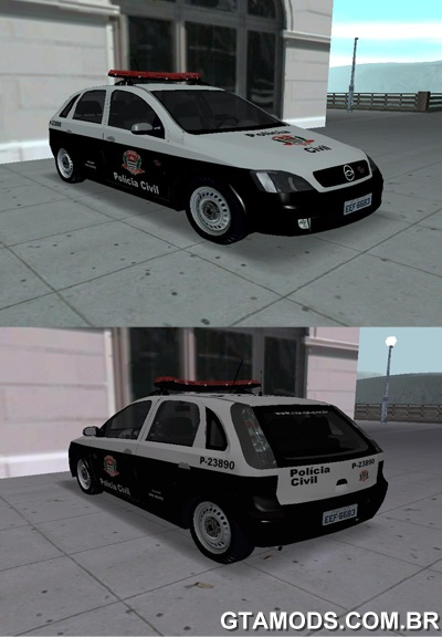 Chevrolet Corsa da Policia Civil