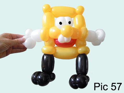 balloon animals twisting instructions balloon spongebob