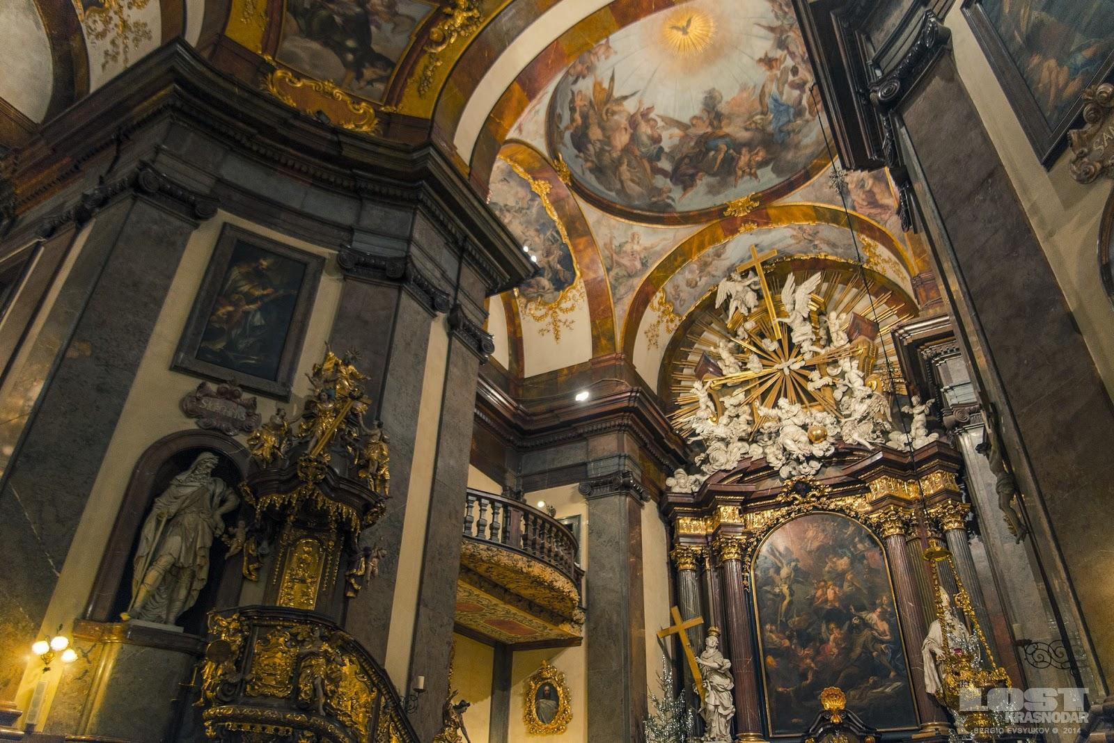 Kostel svatého Františka z Assisi Praha