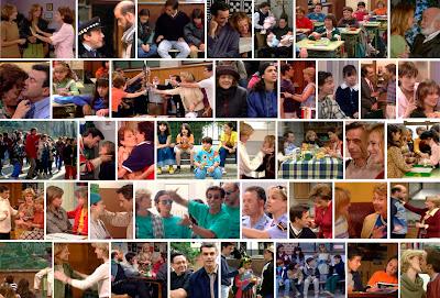 Fotogramas de la serie de Telecinco Querido Maestro