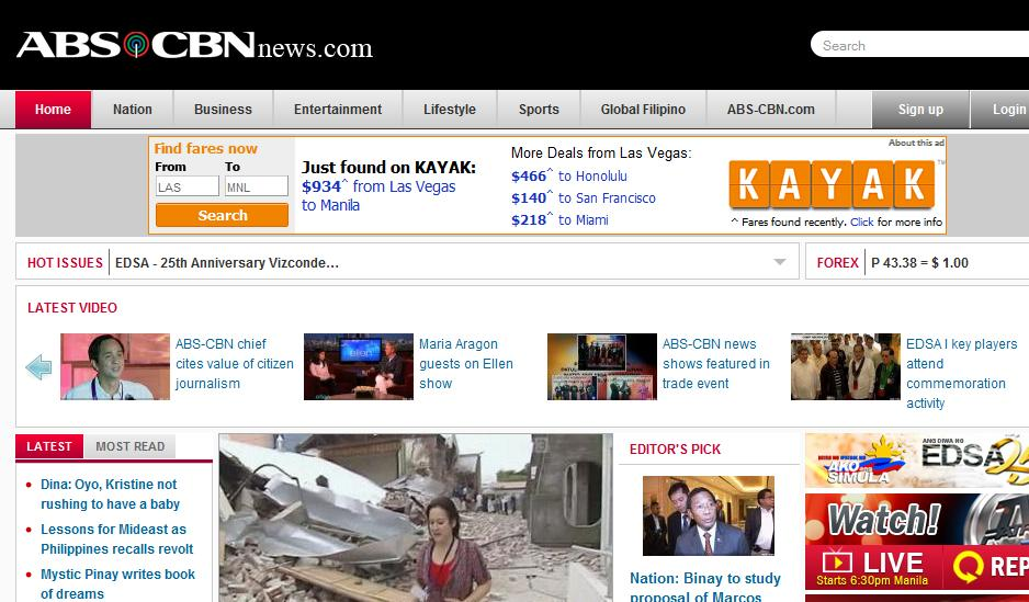 Also,When you access the site of Interaksyon you can hear the 92.3 News FM