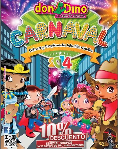catalogo don dino disfraces carnaval 2014