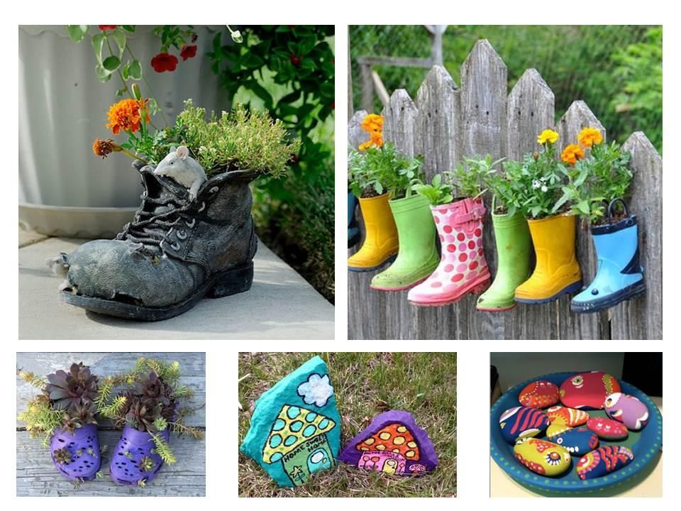 Paisajismo pueblos y jardines ideas creativas de objetos Jardines verticales baratos