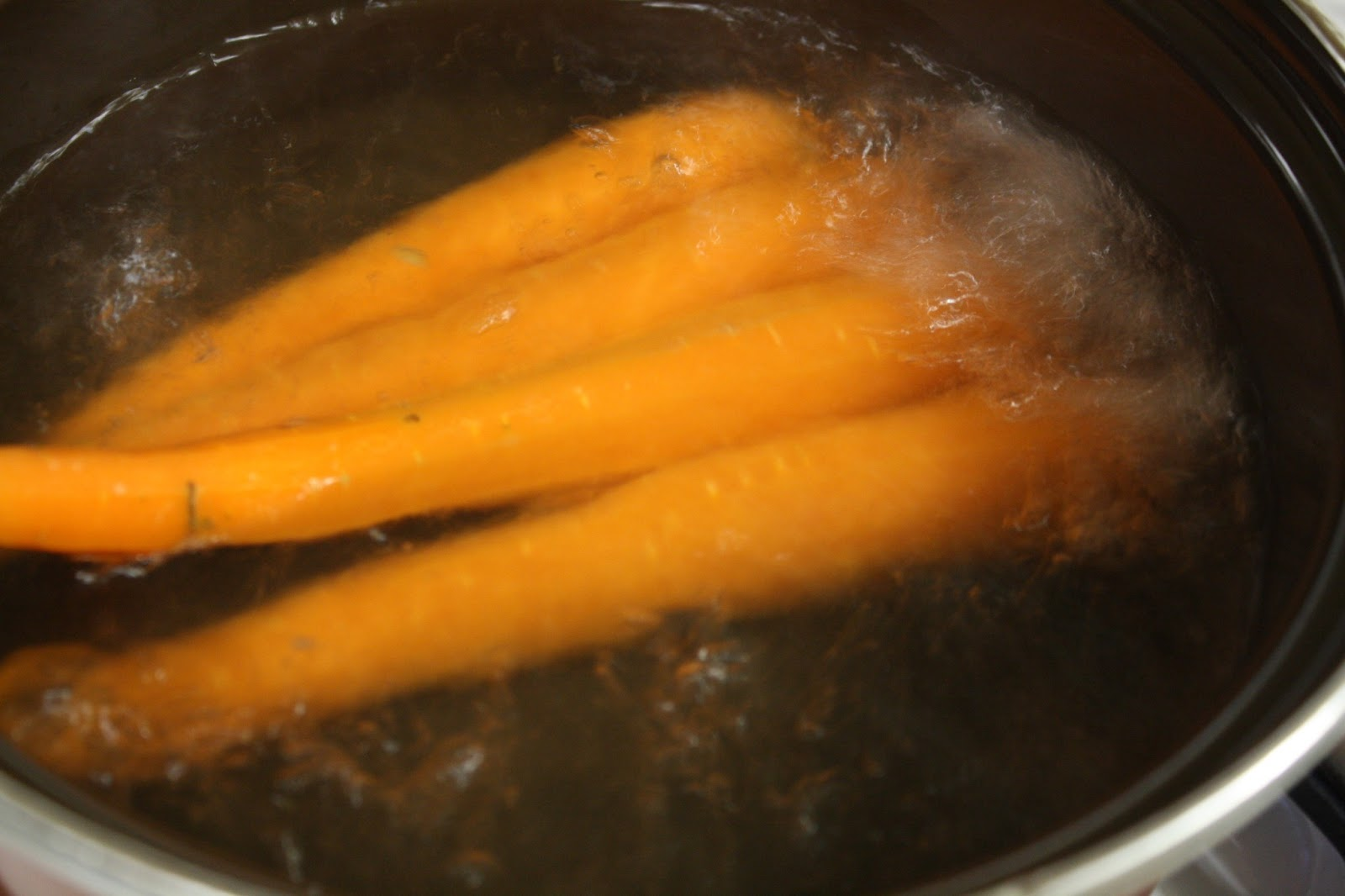 how to cook boiled carrots