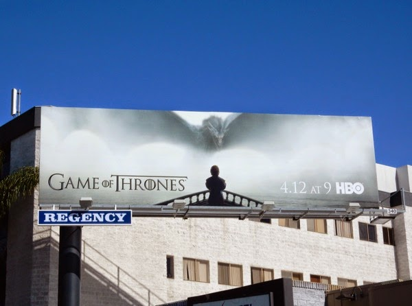 Game of Thrones season 5 billboard