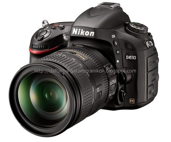 Harga Kamera DSLR Nikon D610