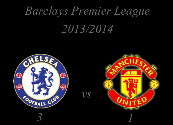 Barclays Premier League : Chelsea (3) vs (1) Manchester United