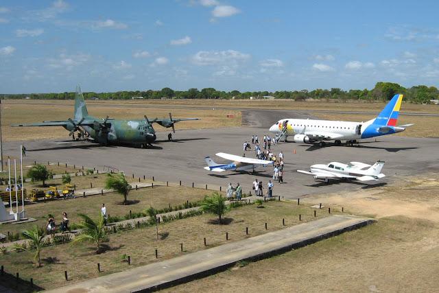 Panorámica del Aeropuerto Germán Olano de Puerto Carreño, Vichada.