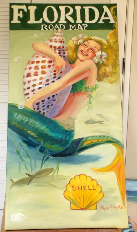 Roberts Mermaid With Junonia