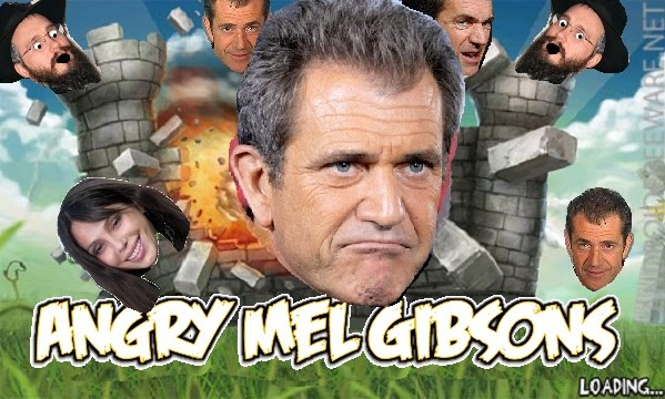 angry mel gibson game