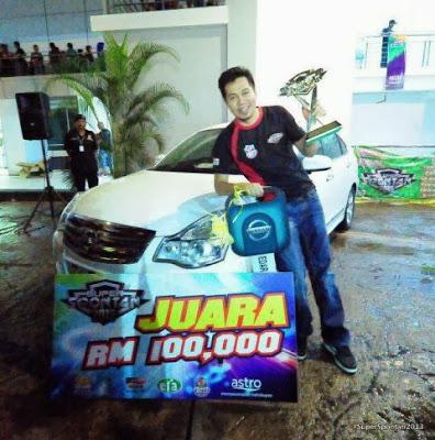 Jep Sepah Juara Super Spontan, Menang RM100,00 Dan Nissan Sylphy