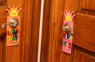 doorknob name tags