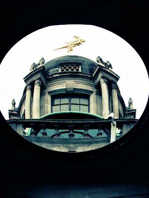 Bank of England, fish eye, London, visit, OpenHouse, property, perception, framed