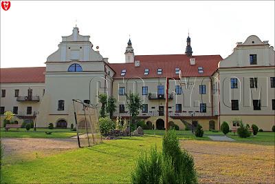 Монастырь францисканцев в Пинске. Жилой корпус