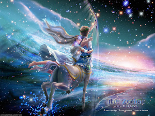 Sagittarius Signs of the Zodiac wallpaper