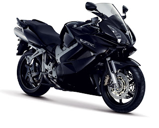 Black Honda Motorcycles