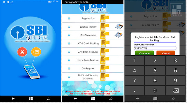 SBI Quick for Windows Phone