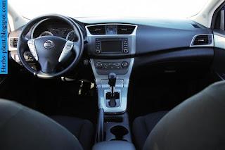 Nissan sentra car 2013 dashboard - صور تابلوه سيارة نيسان سنترا 2013