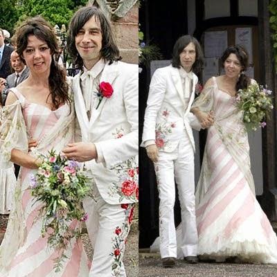 Katy England vestido de novia